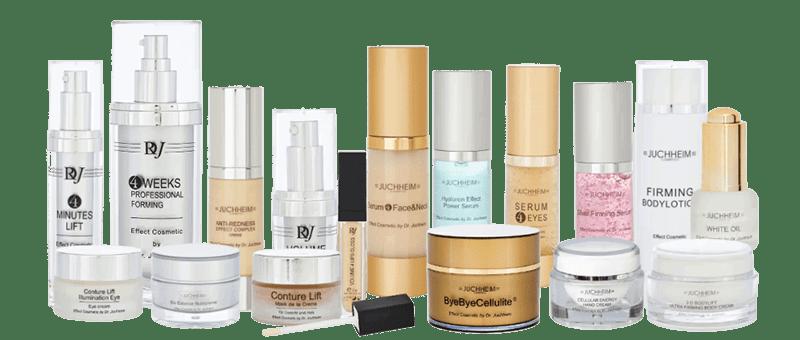 Dr. Juchheim kozmetikai termékek és kezelések